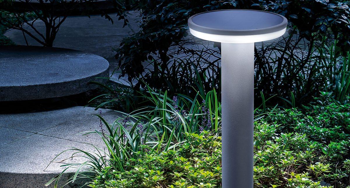 Schöne Wegeleuchte Solar LED