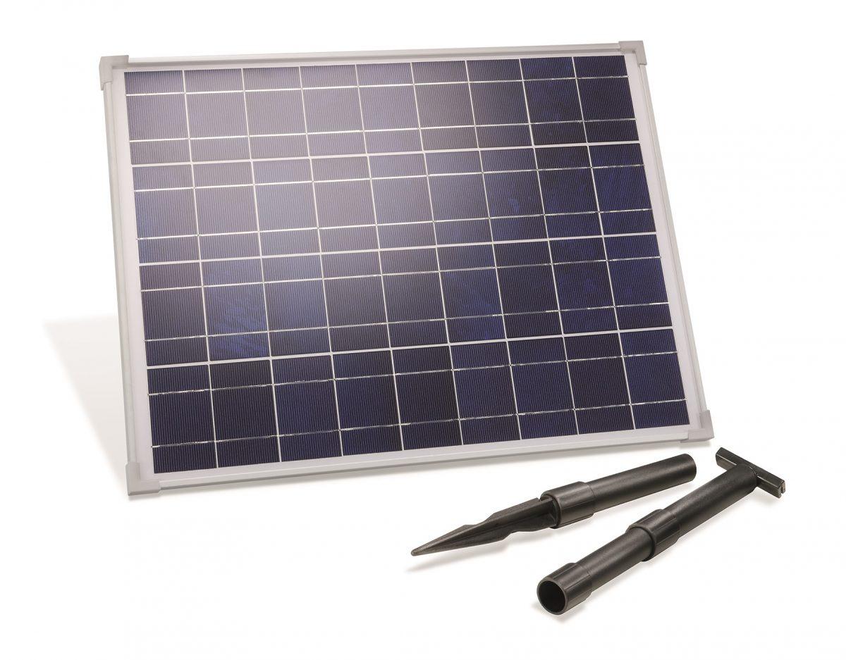 Solarmodul mit Erdspieß