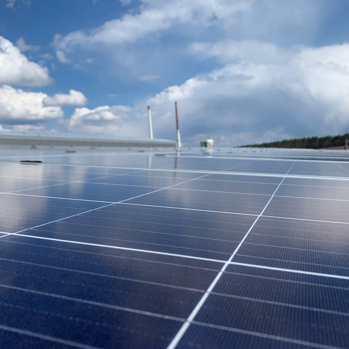 Eine 30 kW Solaranlage
