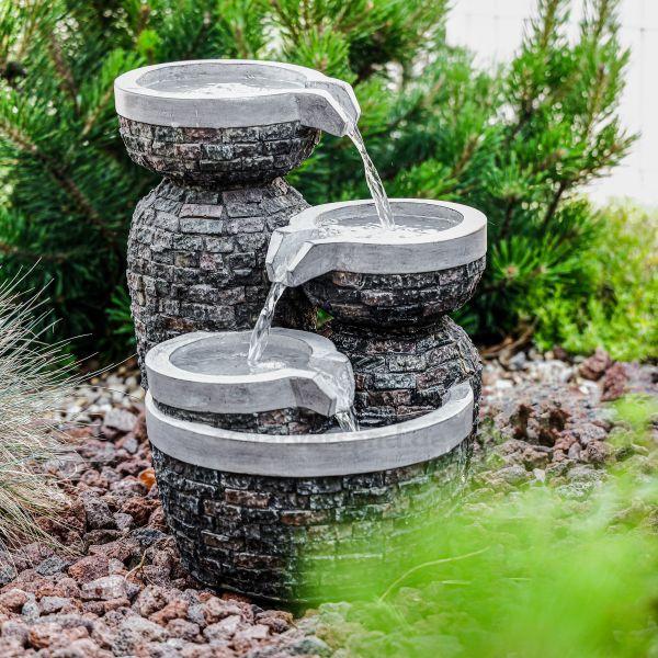 Kaskaden-Gartenbrunnen Bowl Fountain