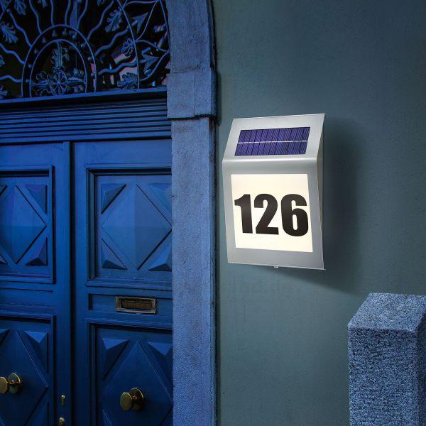 Solar Hausnummern Style