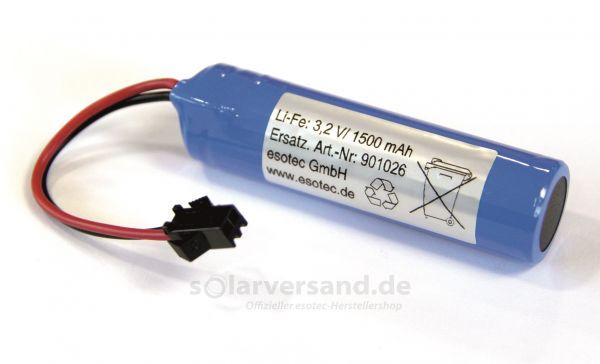 Ersatzakku Li-Fe-Po 3,2V 1500 mAh - 901026