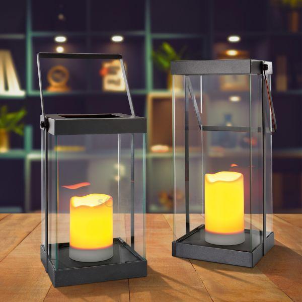 Design Dekoleuchten-Set Saskia batteriebetrieben