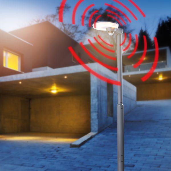 Solar Sensor-Wegeleuchte Loreto 200 cm