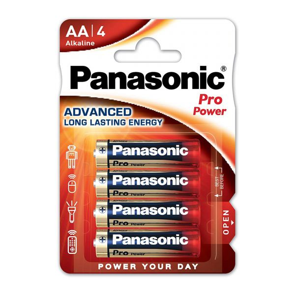 Panasonic 1,5V Mignon AA pro Power 4er Set
