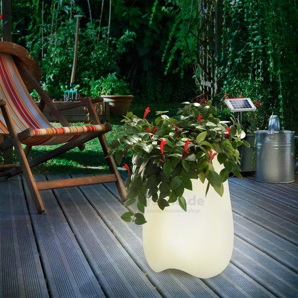 Solar Design Blumentopf Flowerpott