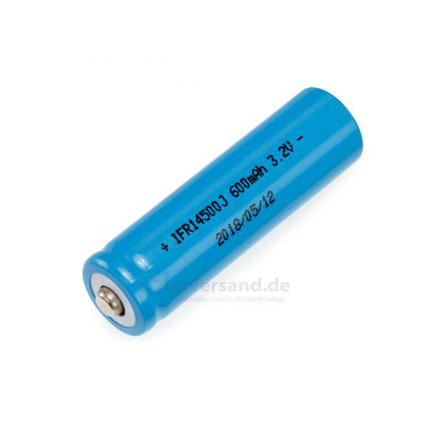 Ersatzakku Li-Fe-Po 3,2V 600 mAh - 901020