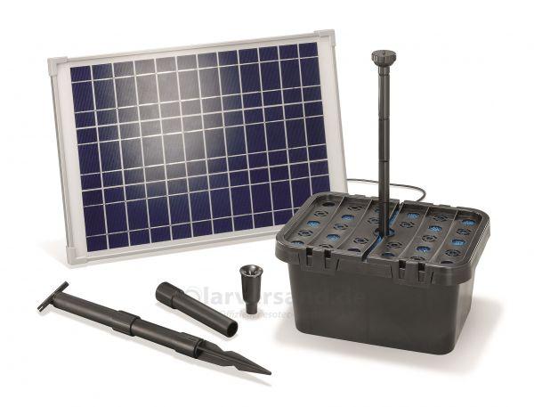 Solar Teichfilter Set Starter 1300/20