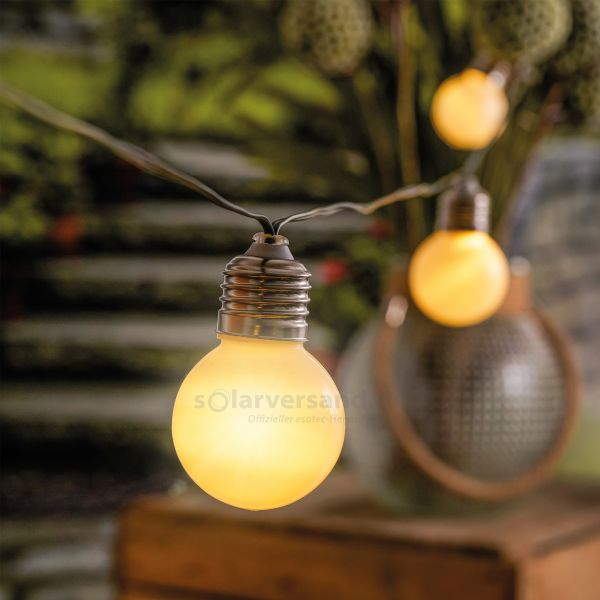 Solar Glühbirnen-Lichterkette Shining Bulbs