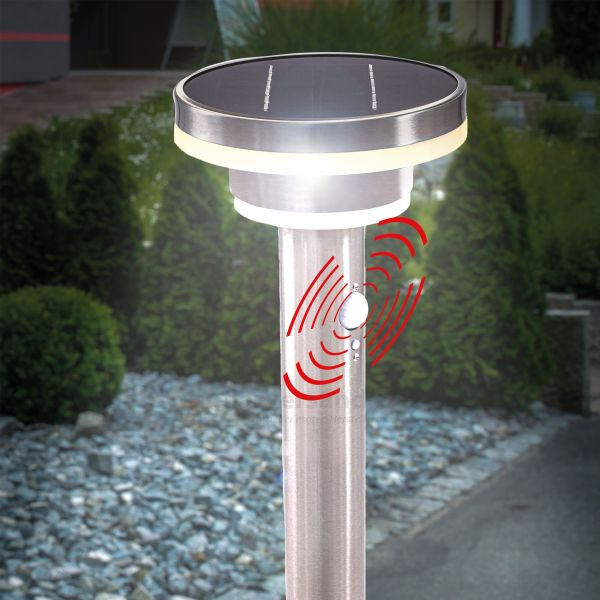 Solar-Wegelampe Modena 45 cm mit Bewegungssensor