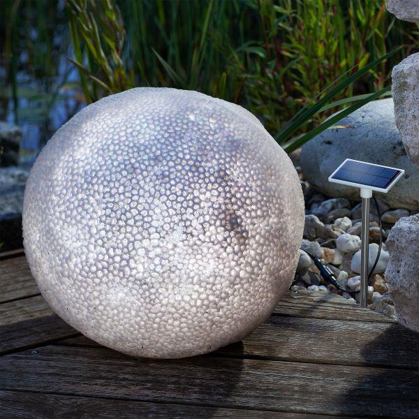 Solar Deko-Leuchtkugel Coral Ball