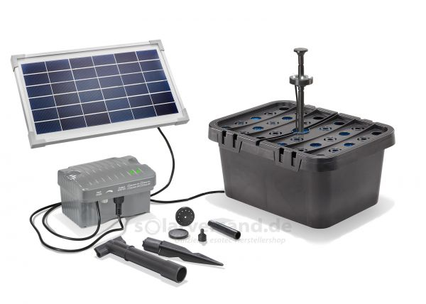 Solar Teichfilterset Starter 300/8 plus