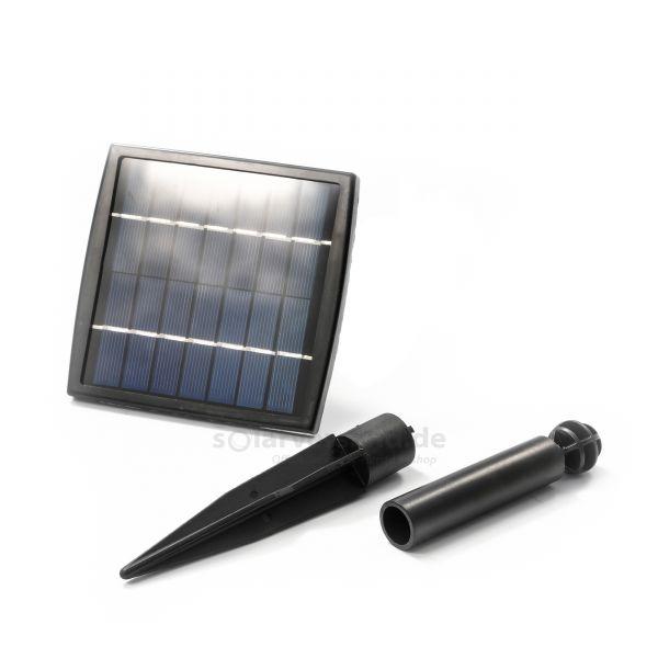 Solarmodul 1,5 Wp 14 Zellen 7V DC mit Erdspieß