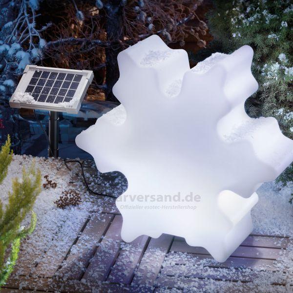 Solar Lichtobjekt Schneeflocke