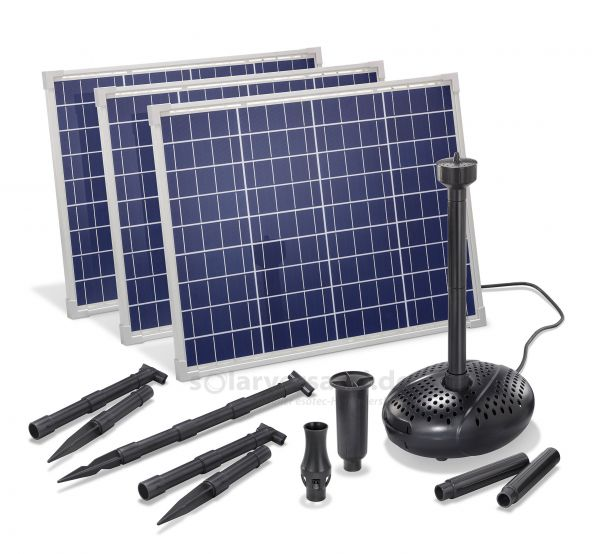 Solar Teichpumpenset 150/5000 Professional