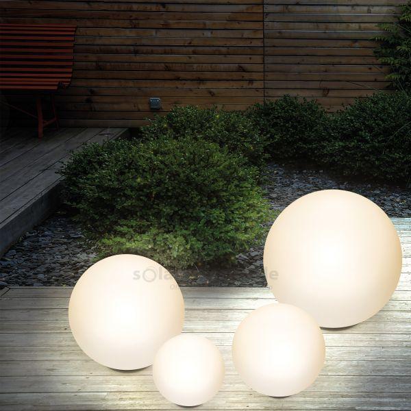 Dekorative Solarkugeln Lumina im 4er-Set