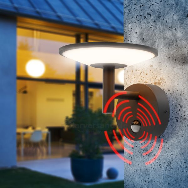 LED Sensor-Wandleuchte DiscLine