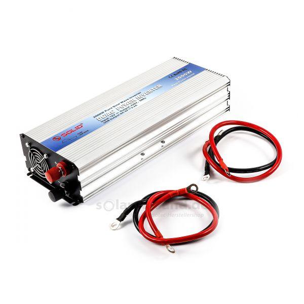 Sinus-Wechselrichter 12V 2000 Watt