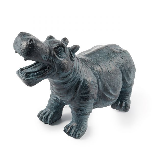 Wasserspeier Flusspferd Hippo