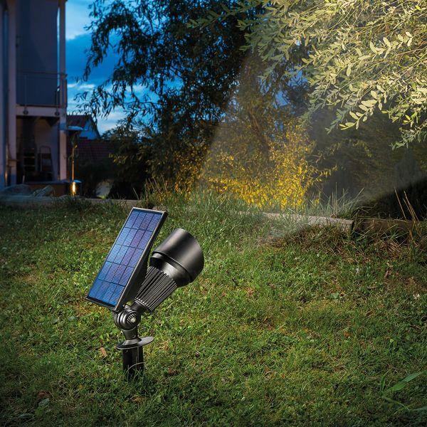 Solar Bodenstrahler Superspot Duo color