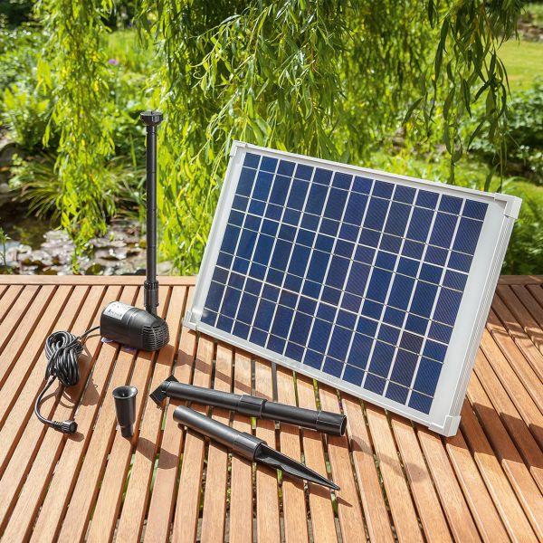 Sommerangebot - Solar Teichpumpenset Riviera