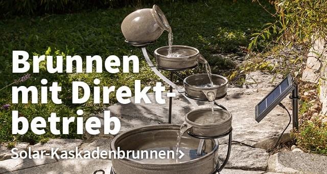 Zu den Solarbrunnen mit Direktbetrieb | solarversand.de