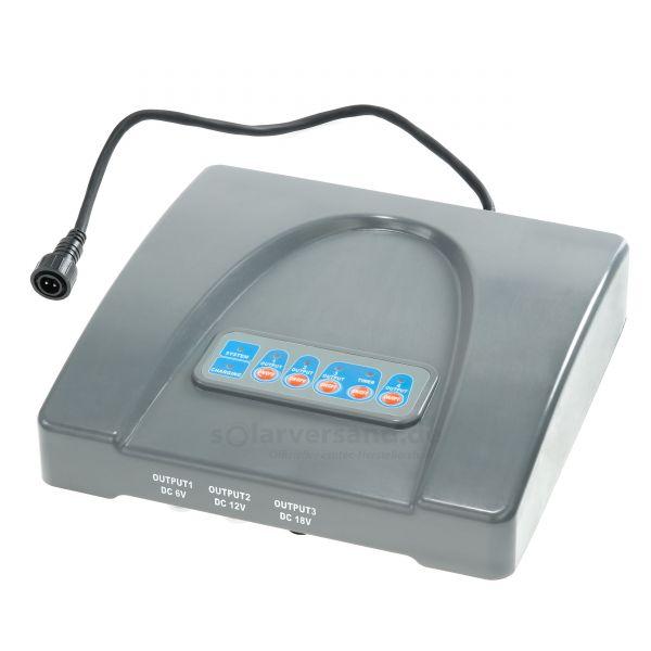 Deckel mit Elektronik für Akkubox 101810 12V 24Ah - 910106