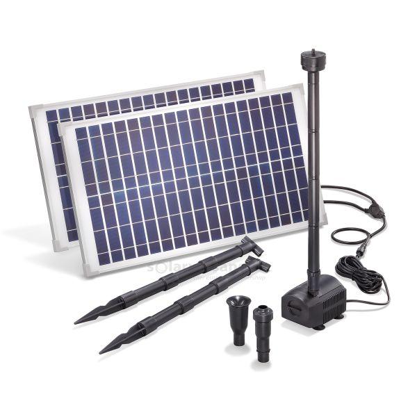 Solar Teichpumpenset 50/1750 Professional 18V