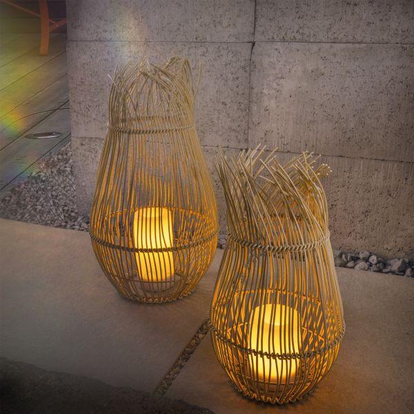 Dekorative Solar Windlichter Bali im Set