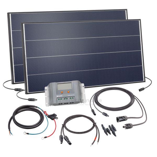 PV Solar Inselanlage 200Wp 12V