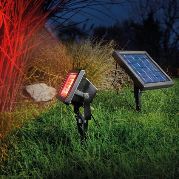 Solar LED Außenstrahler RGB