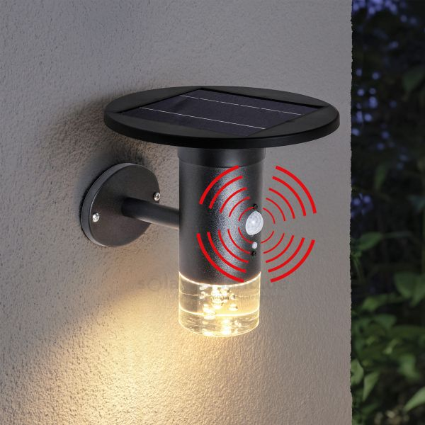 Solar Sensor-Außenwandleuchte Biella