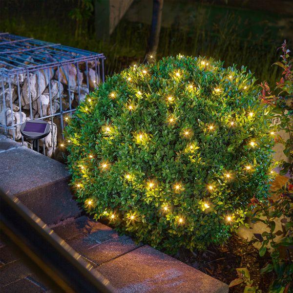Solar Premium Lichterkette mit 60 LEDs warmweiß