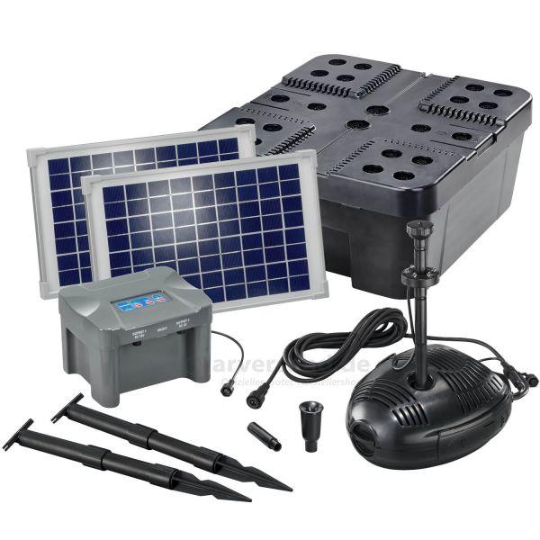 Solar Teichfilter Set Profi 630/20 LED