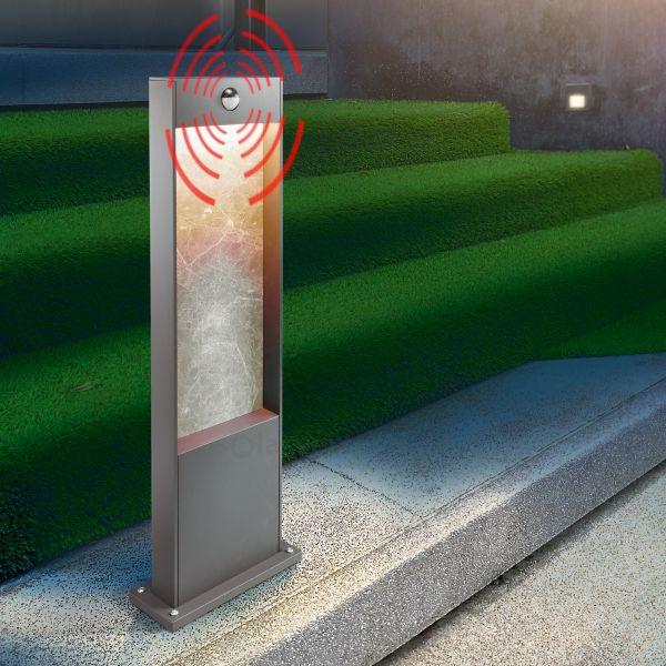 Design Pollerleuchte StoneLine 65 mit Bewegungsmelder