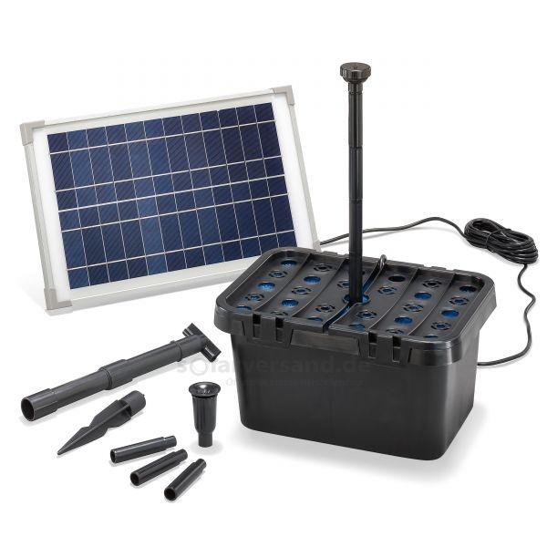Solar Teichfilter Set Starter 12/650 - 2019