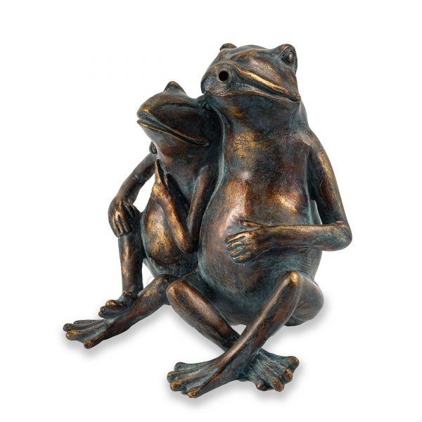 Wasserspiel-Figur Froschpaar