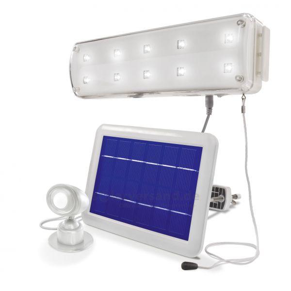Solar Lichtsystem mit PIR