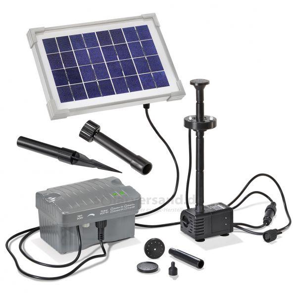 Solar Teichpumpenset Palermo LED