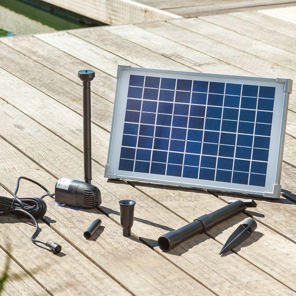 Sommerangebot - Solar Teichpumpenset Modena