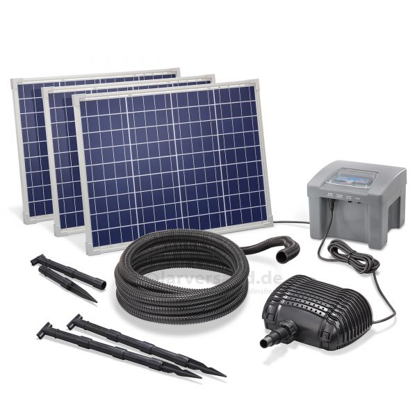 Solar Bachlaufset 150/3500 Professional proBatt max