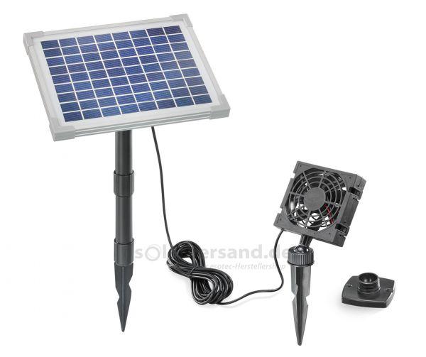 Solar Lüfterset FreshAir 5W