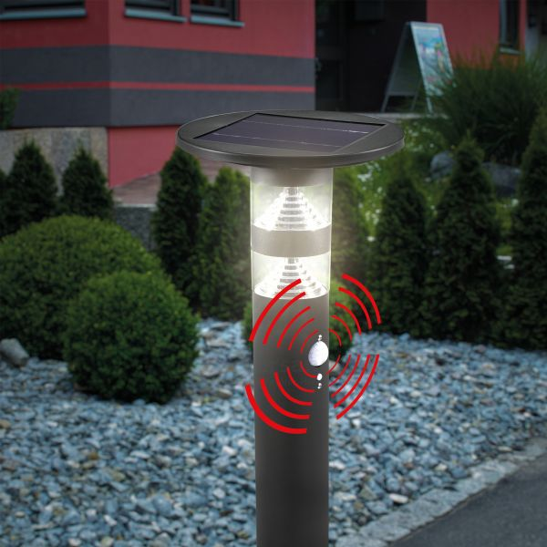 Solar Wegeleuchte Casoli mit PIR-Sensor