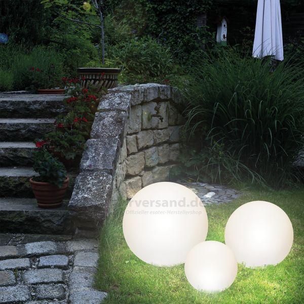 Dekorative Solarkugeln Lumina im 3er-Set