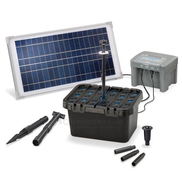 Solar Teichfilterset Profi 15/500 LED proBatt