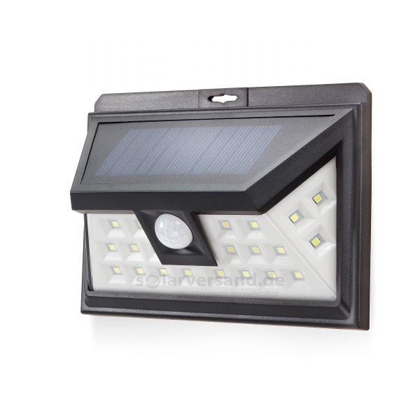 Moderne Solar Wand- und Sicherheitsleuchte FutureLight 180