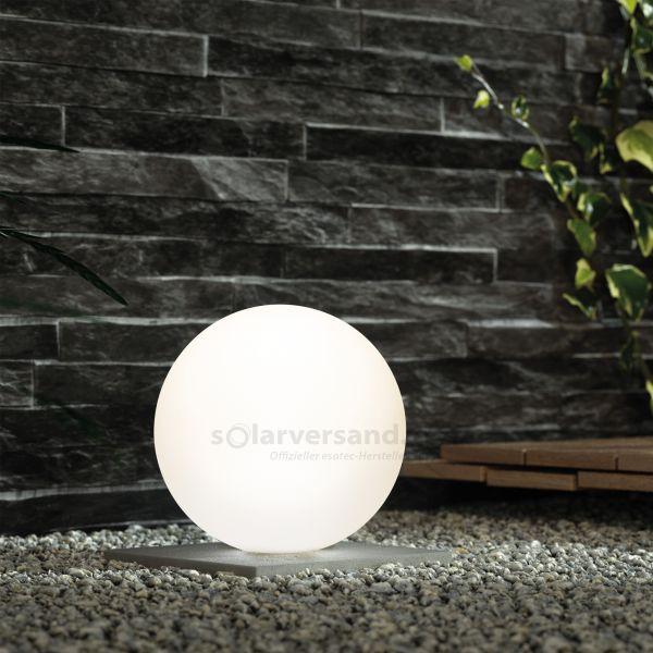 Stimmungsvolle Solarkugel Lumina 40 cm