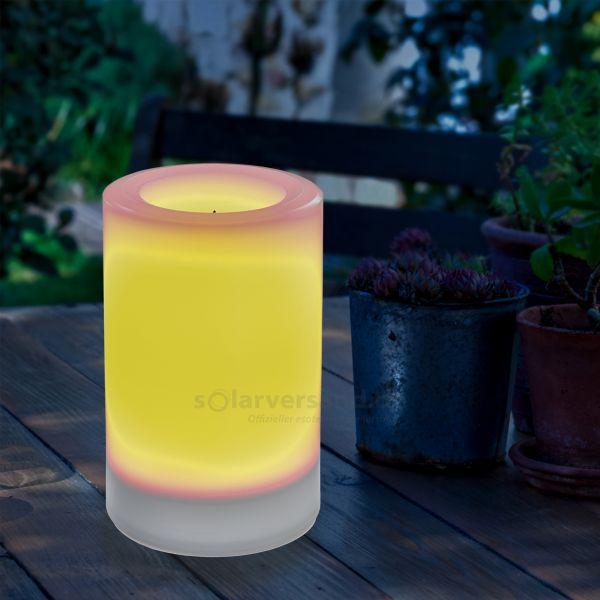 Solar LED-Kerze Ella 100 x 150 mm