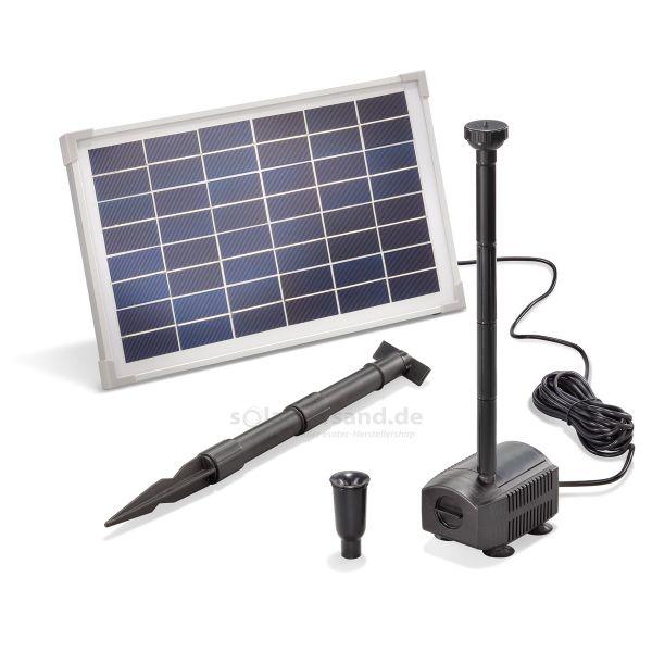 Solar Teichpumpenset 12/650 Professional 12V