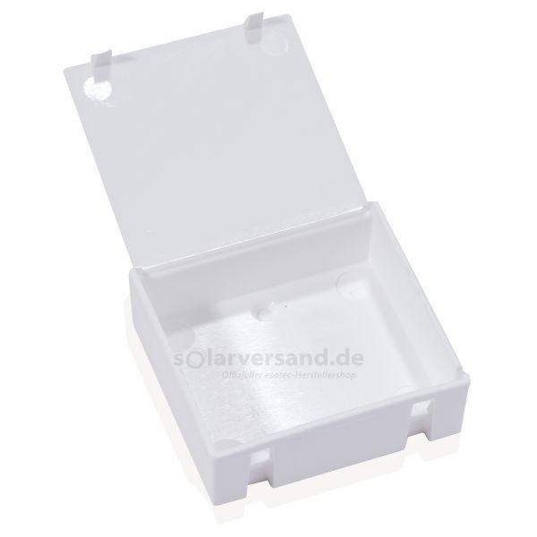 Akkubox weiß mit Deckel - 604000